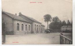54..BACCARAT   LA GARE    + ATTELAGE     TBE - Baccarat