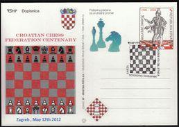 Croatia 2012 / 100th Anniversary Of The Croatian Chess Federation / Sport - Schaken