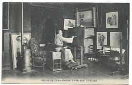 69 Lyon - Artiste Peintre - Puvis De Chavannes Dans Son Atelier - Lyon