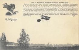 Aéroplane: Le Biplan De Mme La Baronne De La Roche Construit Par Les Frères Voisin - Carte J. Hauser Non Circulée - ....-1914: Précurseurs
