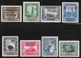 Somalia Scott # 156-63 Mint Hinged 1934 Stamps Overprinted, Abruzzi Issue, 1934, CV$168.00 - Somalia