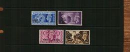 KUWAIT - KGVI - OLYMPIC O/PRINTS - 4 Stamps - MNH - Kuwait