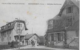 BONCOURT (Suisse) → Frontière Franco-Suisse Dévider-Bellevue Anno1919 - JU Jura