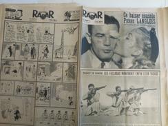 Radar 26 Décembre 1954 Comines Lurs Loison Sous Lens Atlantic City Nice Biesles Haute Marne - Livres, BD, Revues