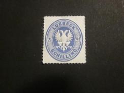 Lübeck Nr. 11 Postfrisch** / NACHDRUCK - Luebeck