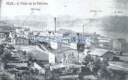 84109 PARAGUAY FLIX VISTA DE LA FABRICA FACTORY CIRCULATED TO ARGENTINA POSTAL POSTCARD - Paraguay