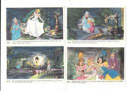 10376 - Lot De 4 CPA WALT DISNEY, CENDRILLON N°11/12/13/14 - Disney