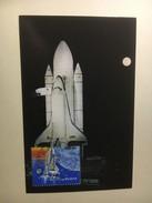 "P6 - Espace Carte Maximum The Space Shuttle ""Enterprise""dtands Against The Darkened Florida Sky During Testing... - Raumfahrt"