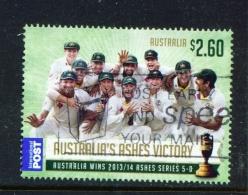 AUSTRALIA  -  2014  The Urn Returns  $2.60  International Post  Sheet Stamp  Used As Scan - Oblitérés