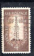STATI UNITI 1959 , Yvert N.  673  (Un. 922)  Usato . Petrolio - Gebruikt
