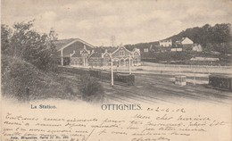 Ottignies ,la Station ,gare Intérieur Voie ,statie, Nels ,Bruxelles Série 11 ,n° 285 - Ottignies-Louvain-la-Neuve