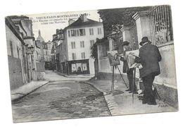 Paris - Montmartre,  Les Rapins Rue Norvins - Arrondissement: 18