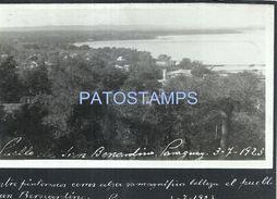 84120 PARAGUAY SAN BERNARDINO VISTA PARCIAL DEL PUEBLO AÑO 1923 POSTAL POSTCARD - Paraguay