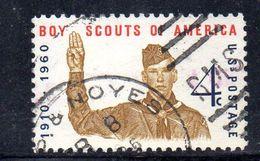 STATI UNITI 1960 , Yvert N.  679  (Un. 933)  Usato . Scout - Gebruikt