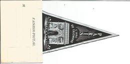 75 ARC TRIOMPHE   FANION POSTAL NOIR  NEUF - Arc De Triomphe
