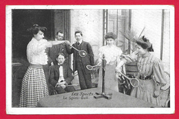 CPA Les Sports - Le Spiro Ball - Cartoline