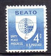 STATI UNITI 1960 , Yvert N.  685  (Un. 939)  Usato .seato - Gebruikt