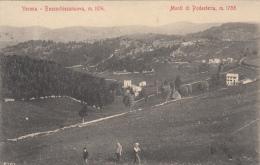 1913-Bosco Chiesanuova Verona, Panorama Con I Monti Di Podesteria, Viaggiata - Verona