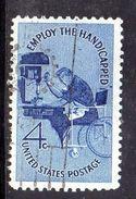 STATI UNITI 1960 , Yvert N.  690  (Un. 943)  Usato . - Gebruikt