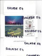 Pochette De 24 CPM - VOLCANS D' AUVERGNE Avec Détail Pour Chaque Volcan - Toutes Différentes - Auvergne