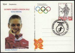 Croatia Zagreb 2012 / Olympic Games London / Athletics Discus Throw / Sandra Perkovic Gold Medal Winner - Eté 2012: Londres
