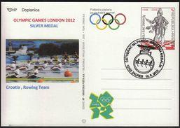 Croatia Zagreb 2012 / Olympic Games London / Rowing Men's Quadruple Sculls / Croatian Silver Medal - Eté 2012: Londres