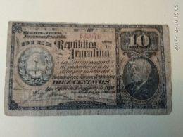 10 Centavos 1890 - Argentina