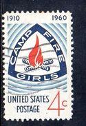 STATI UNITI 1960 , Yvert N.  704  (Un. 955)  Usato . - Gebruikt