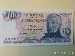 100 Pesos 1983 - Argentina