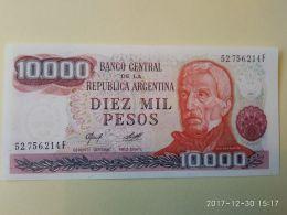 10.000 Pesos 1976-83 - Argentina