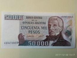 50.000 Pesos 1979-83 - Argentina