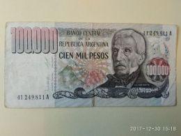 100.000 Pesos 1979-83 - Argentina