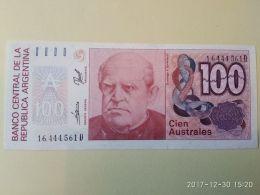 100 Australes 1985-90 - Argentina