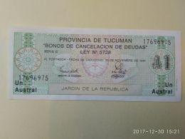 1 Austral 1991 - Argentina