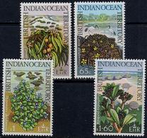 A1194 BRITISH INDIAN OCEAN TERRITORY 1975,  SG 77-80 Wildlife  MNH - British Indian Ocean Territory (BIOT)