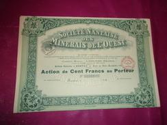 Société Nantaise Des MINERAIS DE L'OUEST (nantes) - Unclassified