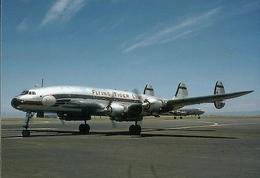 Aviation Postcard-486  FLYING TIGER Lockheed L-1049 Constellation - 1946-....: Moderne