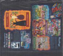 BURUNDI 2012 - Arts, Tableaux, Peintres Africains Tingatinga - 4 Val + BF Neufs // Mnh - Burundi