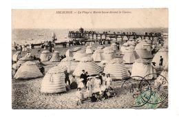 33 - ARCACHON . La Plage à Marée Basse Devant Le Casino - Réf. N°6932 - - Arcachon