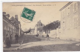 Loir-et-Cher - Cour-Cheverny - Rue Nationale - Route De Blois - Cheverny