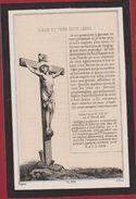 Adolphe Genard Josephine Van Der Molen Antwerpen Anvers  1867 Dopter Paris Zeer Oud Doodsprentje Image Mortuaire - Images Religieuses