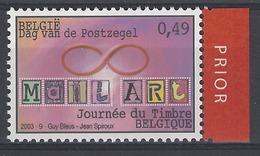 Belgique COB 3172 ** (MNH) Vignette Prior à Droite - Belgium