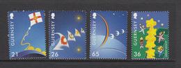 Guernsey Set Of 4, Europa - 2000 Unmounted Mint NHM - Guernsey