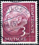BRD - Michel 196 - OO Gestempelt (A) - 3DM   Heuss I - [7] West-Duitsland