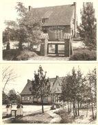 """Kasterlee : Pensioenhuis """" Sparrenhof """"  --  Lichtaertsebaan  ---- 2 Kaarten - Kasterlee"""