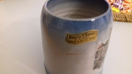 CHOPE DE BIERE 1/2 LITRE POTERIE EHRET - Vaisselle, Verres & Couverts