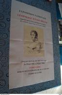 RARE,très Grande Affiche Ancienne,Expo Nationale Léopold I Et Son Règne,Palais Royal 1966,état De Collection,originale - Affiches