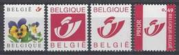 Belgique COB 3180, 3181, 3182 Et 3183 ** (MNH) - Belgium