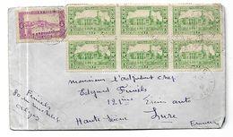 Algérie Lettre Par Avion De 1938   D ' Alger  Vers Lure - Algeria (1924-1962)