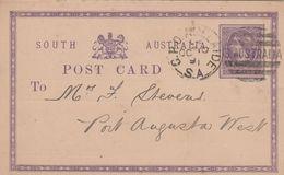 South Australia Entier Postal 1891 - 1855-1912 South Australia